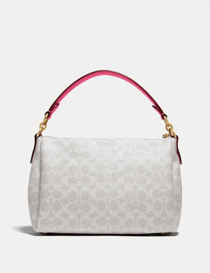 Coach Shay Crossbody in Signature Canvas B4/Chalk Confetti Pink DEFAULT_CATEGORY Alternate View 2