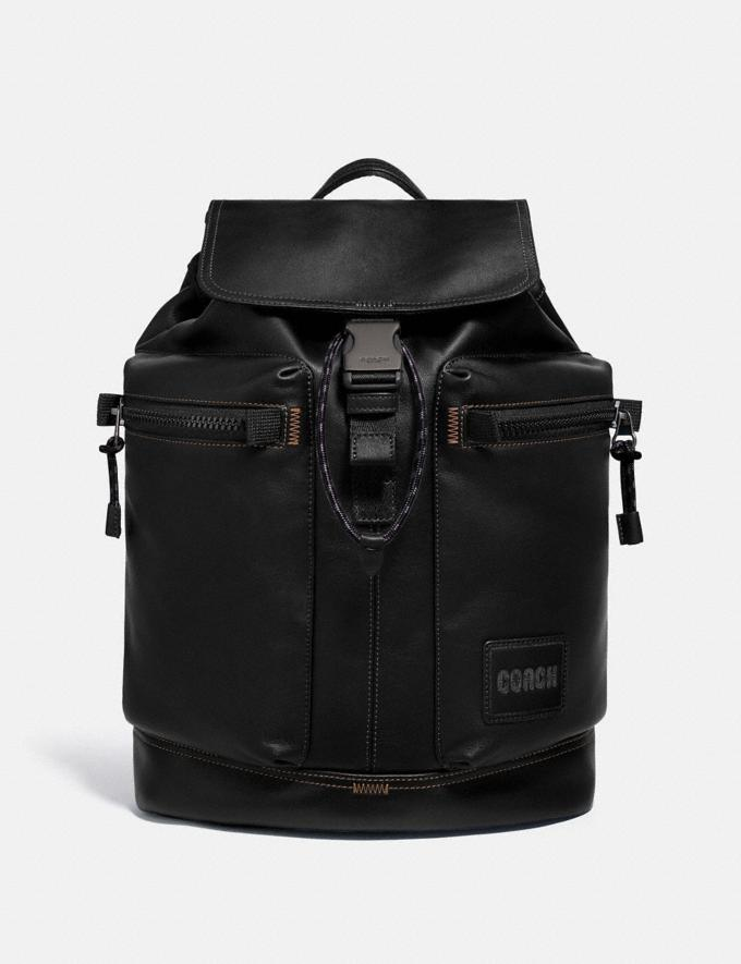 Coach Pacer Utility Backpack With Coach Patch Ji/Black Men Bags Backpacks