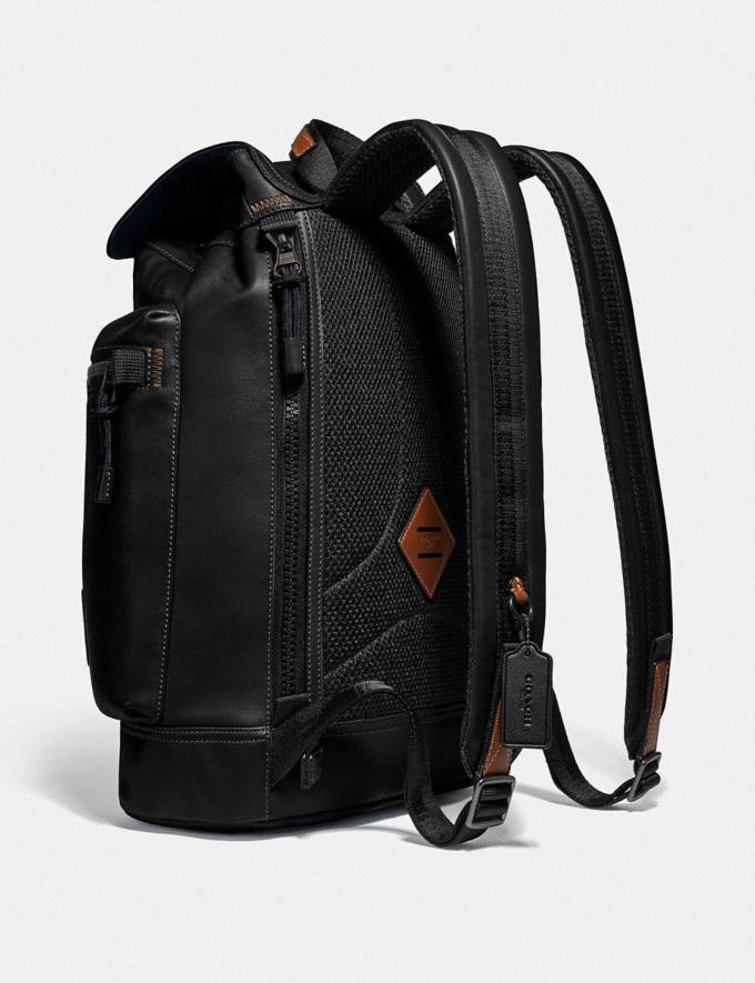 Coach Pacer Utility Backpack With Coach Patch Ji/Black Men Bags Backpacks Alternate View 1