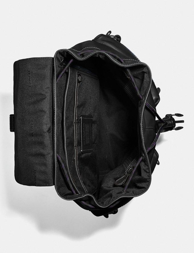 Coach Pacer Utility Backpack With Coach Patch Ji/Black Men Bags Backpacks Alternate View 2