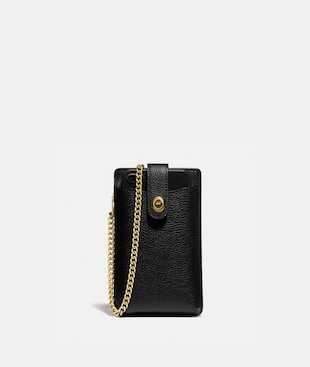 TURNLOCK CHAIN PHONE CROSSBODY