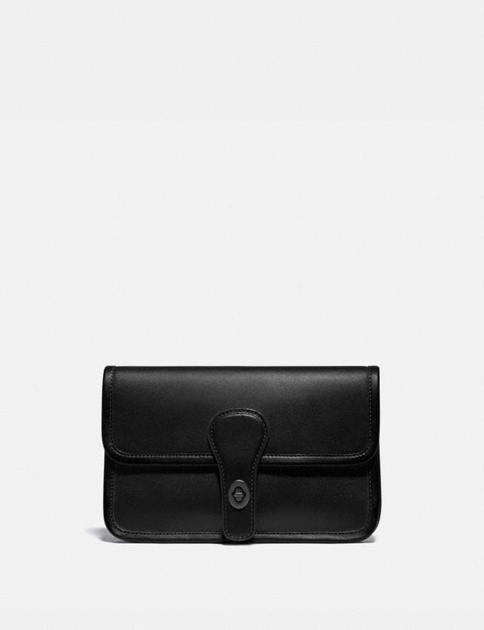 Coach Turnlock Tab Belt Bag Ji/Black Men Bags Belt Bags