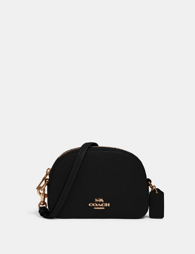 Coach Mini Serena Crossbody Im/Black