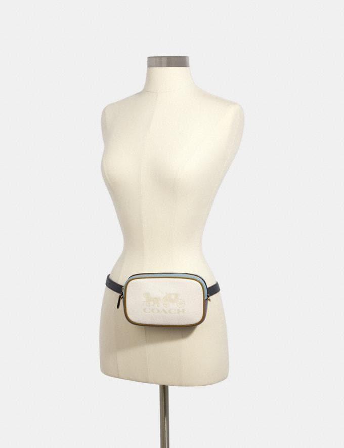 Coach Jes Convertible Belt Bag in Colorblock Im/Chalk Multi  Alternate View 2