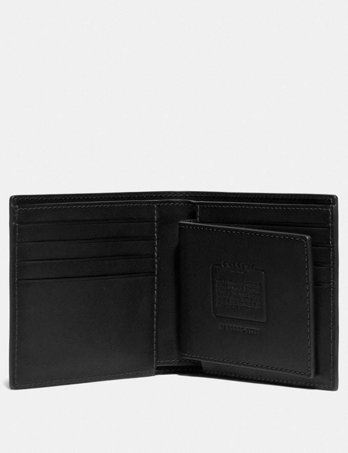 Coach 3-In-1 Wallet Black Men Wallets Billfolds Alternate View 1