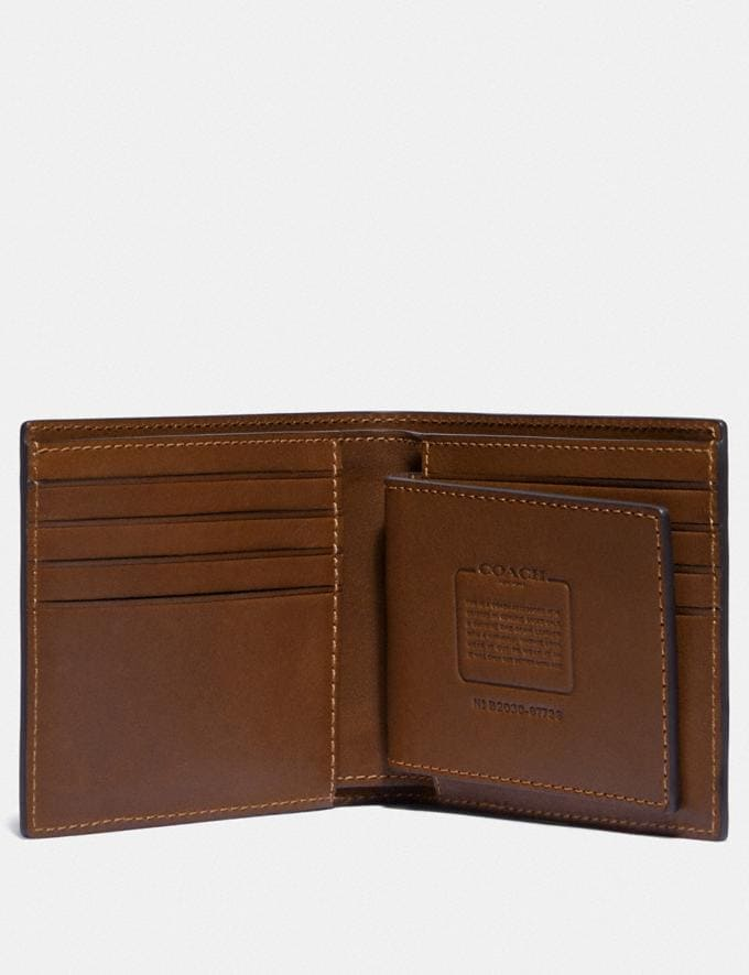 Coach 3-In-1 Wallet Saddle New Men's New Arrivals Bestsellers Alternate View 1