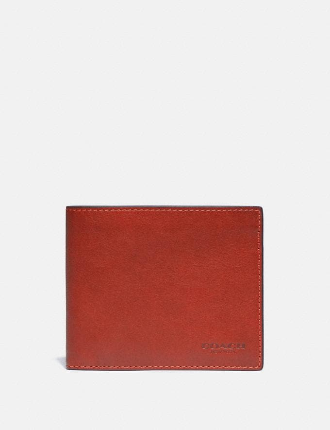 Coach 3-In-1 Wallet Red Sand
