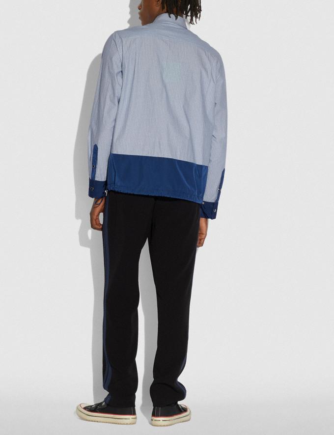 Coach Essential T-Shirt Blauer Streifen Herren Kleidung Oberteile & Hosen Alternative Ansicht 2