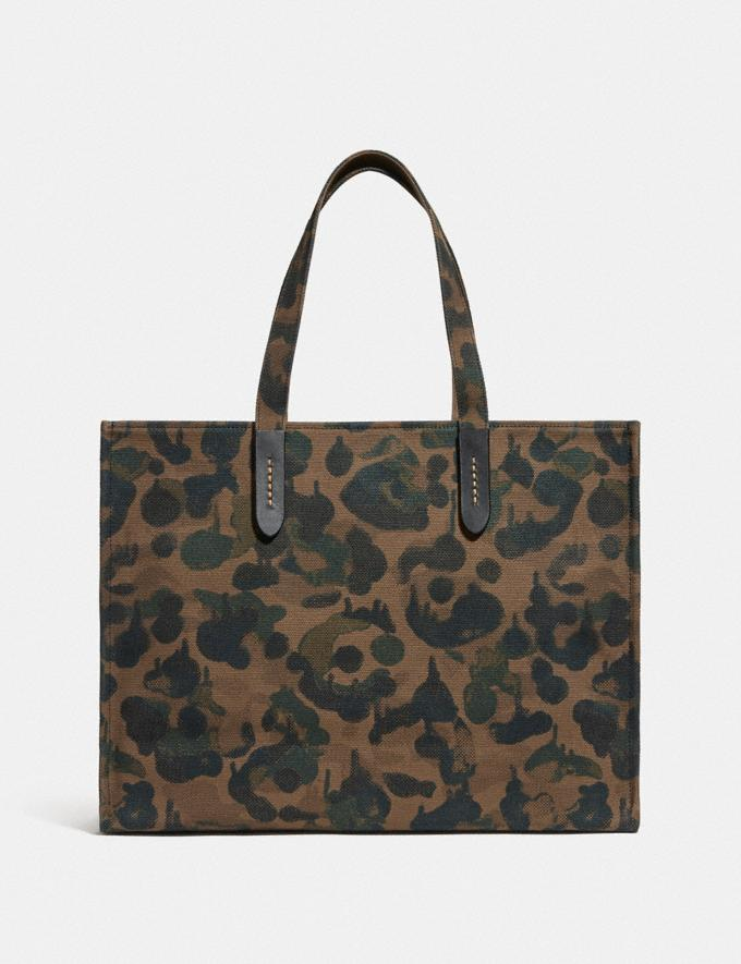 Coach Tote 42 With Rainbow Signature Rexy Ol/Multi Translations 6.1-Otheroutlet Alternate View 2