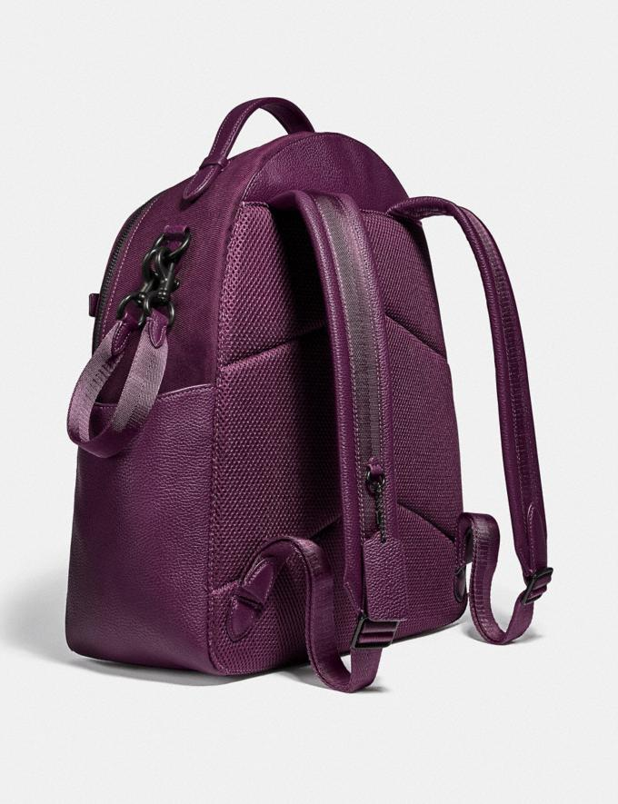 Coach Baby Backpack Pewter/Boysenberry  Alternate View 1