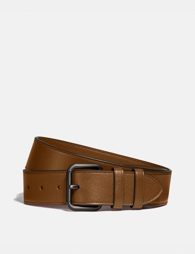 Coach Roller Buckle Belt, 38mm Sienna New Men's New Arrivals Accessories