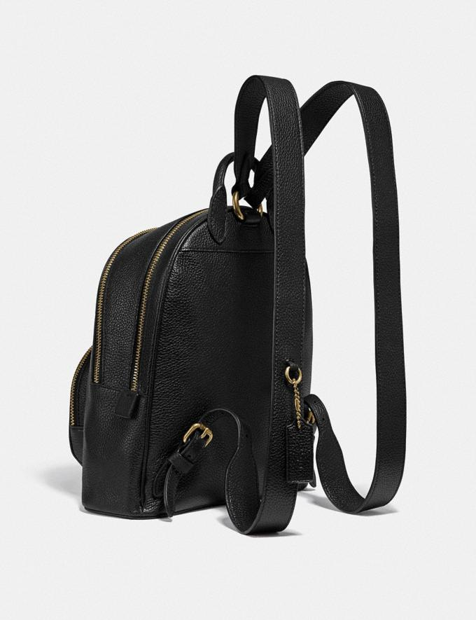 Coach Carrie Backpack 23 Brass/Black New Women's New Arrivals Bags Alternate View 1