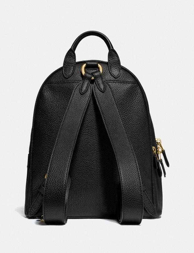 Coach Carrie Backpack 23 Brass/Black Gifts For Her Under $300 Alternate View 2