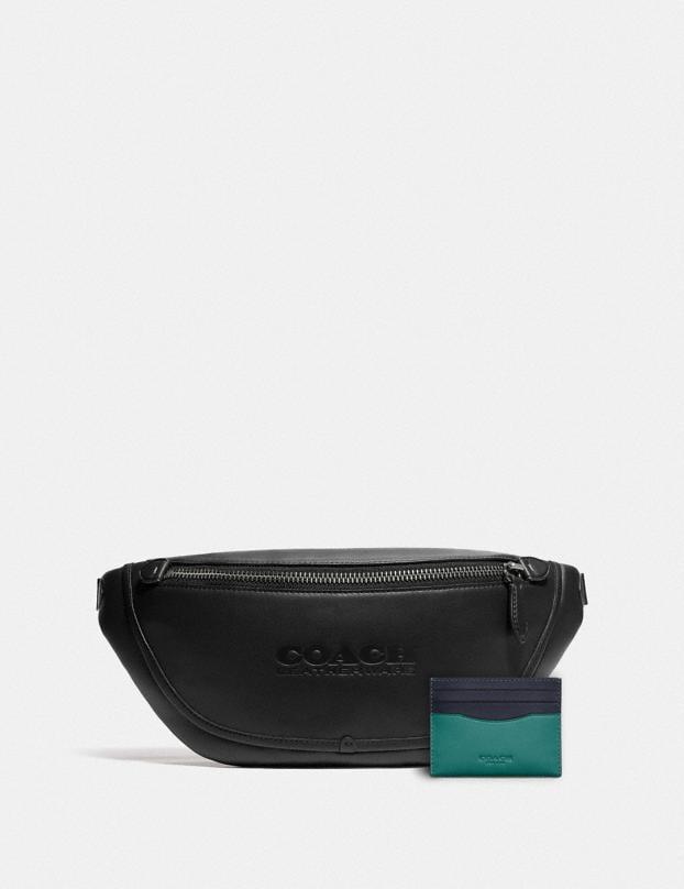 League Belt Bag & Flat Card Case