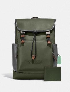 League Flap Backpack & 3-in-1 Wallet