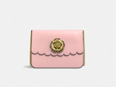 Customize BOWERY CROSSBODY WITH TEA ROSE TURNLOCK