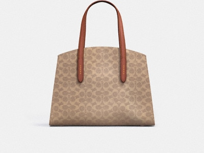 Customize CHARLIE CARRYALL IN SIGNATURE CANVAS