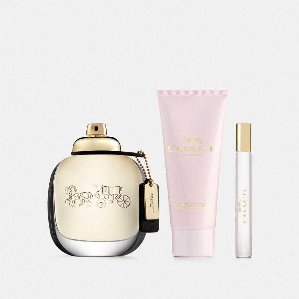 Coach Eau De Parfum 3 Piece Gift Set