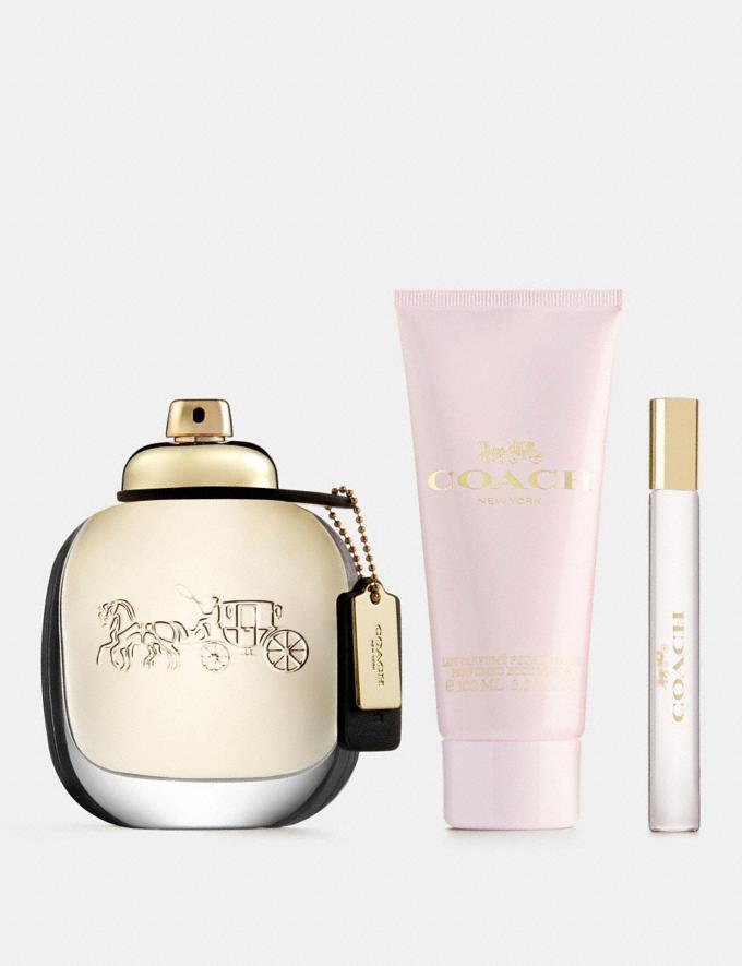 Coach Eau De Parfum 3 Piece Gift Set Multi
