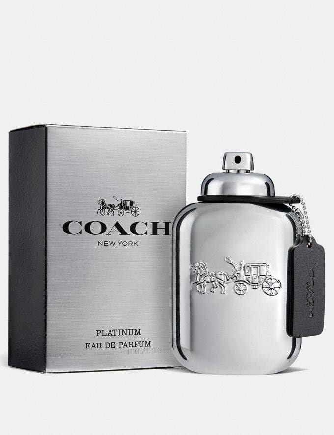 Coach Platinum Eau De Parfum 100ml Multi Men Accessories Fragrance Fragrance Alternate View 1