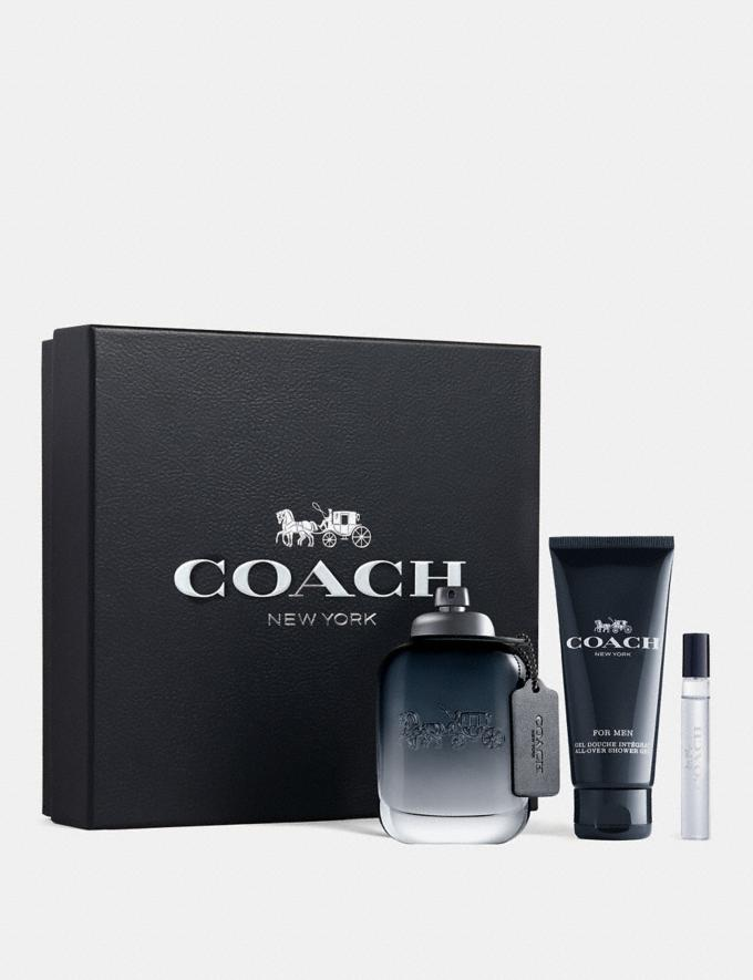 Coach Coach for Men Eau De Toilette 3 Piece Gift Set Multi Men Accessories Fragrance Fragrance Alternate View 1