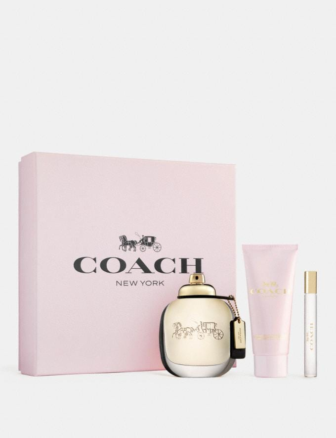 Coach Eau De Parfum 3 Piece Gift Set Multi Women Accessories Fragrance Alternate View 1