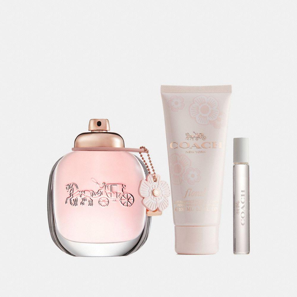 Coach Floral Eau De Parfum 3 Piece Gift Set