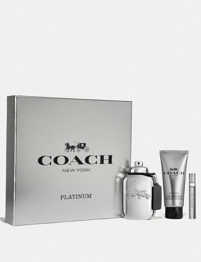 Coach Platinum Eau De Parfum 3 Piece Gift Set Multi Men Accessories Fragrance Fragrance Alternate View 1