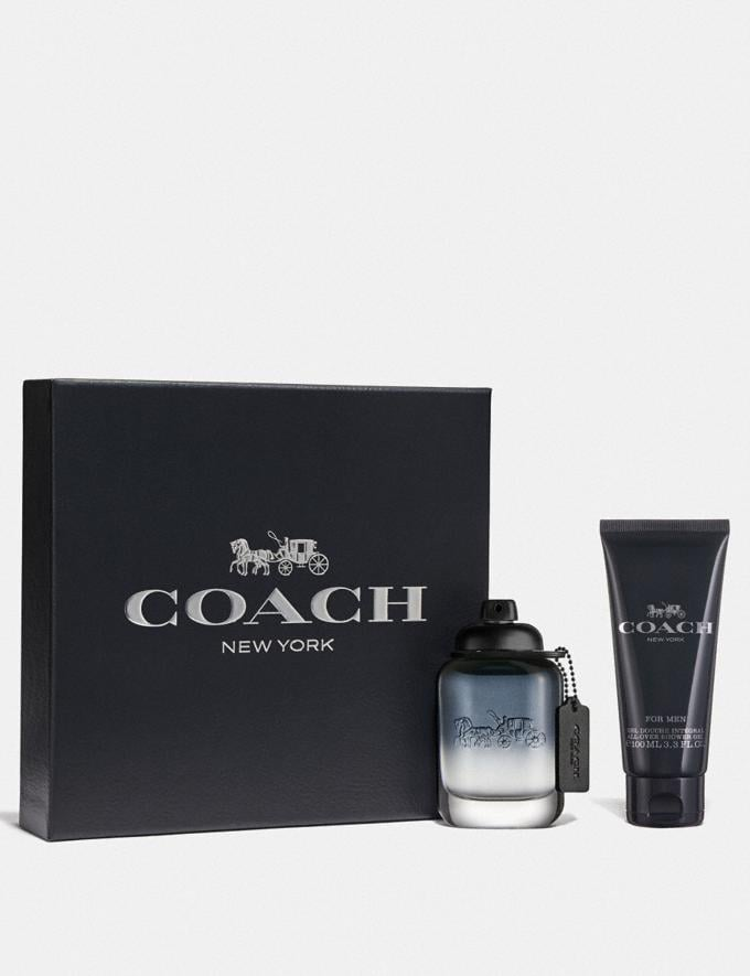 Coach Coach for Men Eau De Toilette 2 Piece Gift Set Multi Men Accessories Fragrance Fragrance Alternate View 1