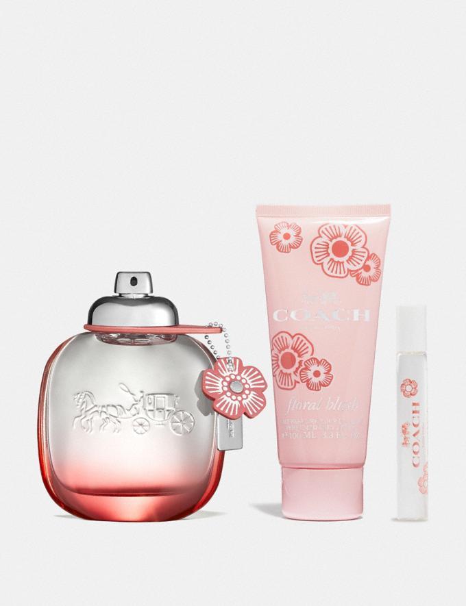 Coach Floral Blush Eau De Parfum 3 Piece Gift Set Multi Women Accessories Fragrance Fragrance