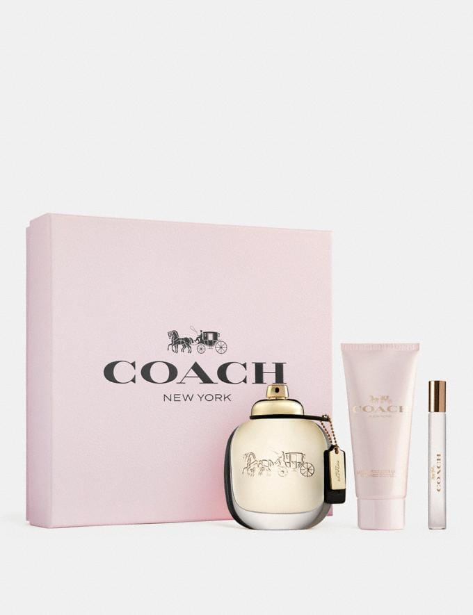 Coach Coach New York Eau De Parfum 3 Piece Gift Set Multi  Alternate View 1