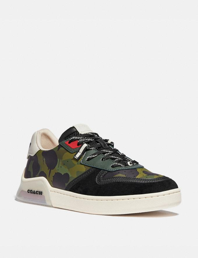 Coach Citysole Court Sneaker With Wild Beast Print Wildbeast Men Shoes Trainers