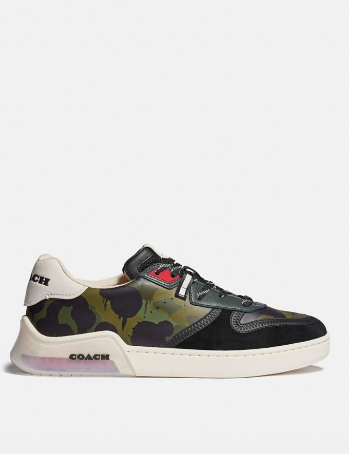 Coach Citysole Court Sneaker With Wild Beast Print Wildbeast Men Shoes Trainers Alternate View 1