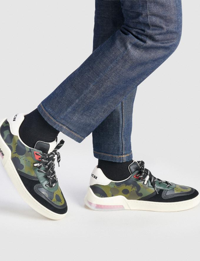 Coach Citysole Court Sneaker With Wild Beast Print Wildbeast Men Shoes Trainers Alternate View 4