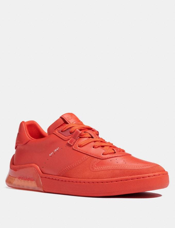 Coach Citysole Court Sneaker Electric Coral