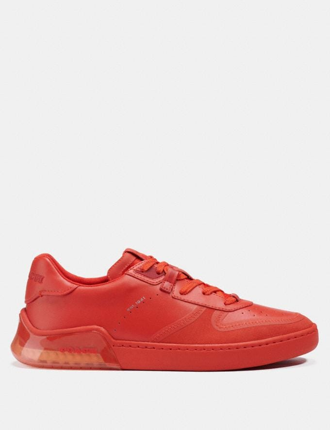 Coach Citysole Court Sneaker Electric Coral  Alternate View 1