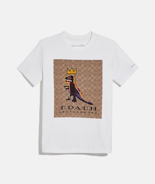 T-SHIRT SIGNATURE COACH X JEAN-MICHEL BASQUIAT