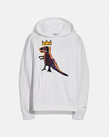 coach x jean-michel basquiat hoodie