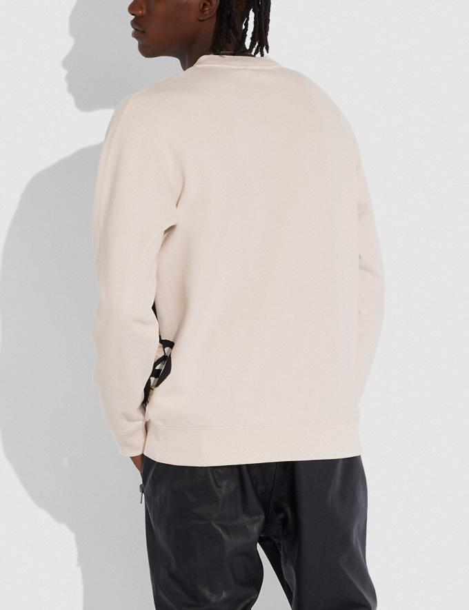 Coach Coach X Jean-Michel Basquiat Sweatshirt Cream Men Ready-to-Wear Tops & Bottoms Alternate View 2