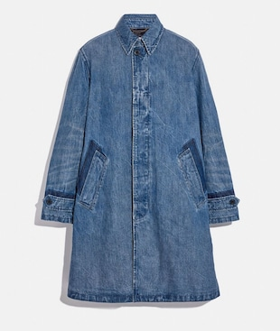 MANTEAU EN DENIM