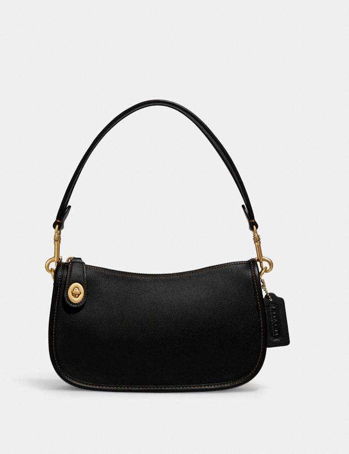 Coach Swinger Bag Brass/Black