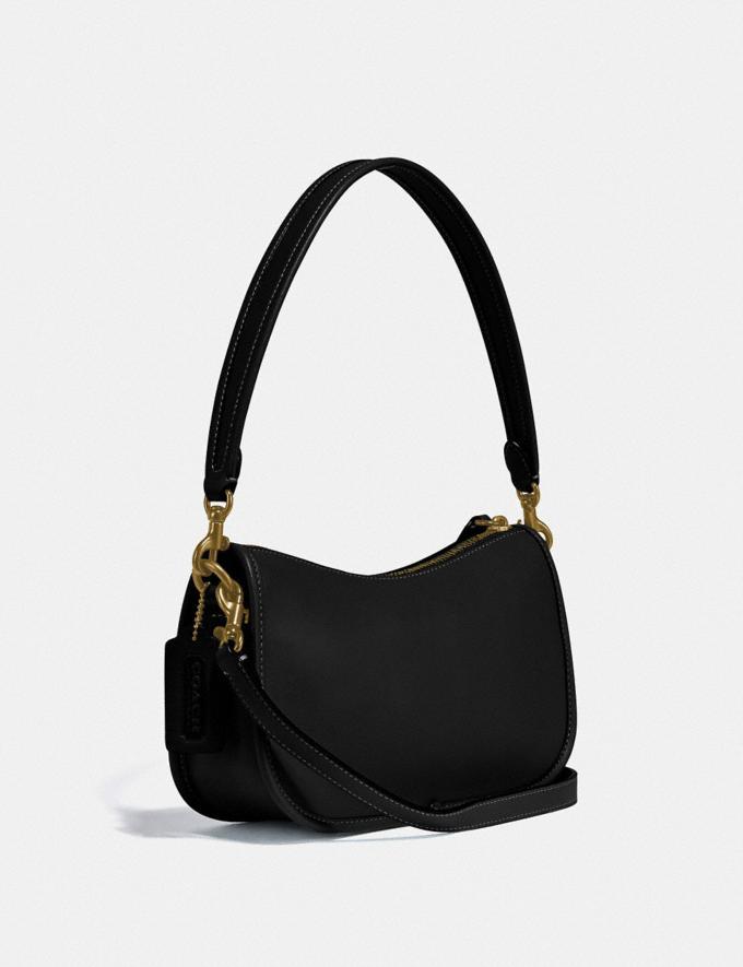 Coach Swinger Bag Brass/Black  Alternate View 1