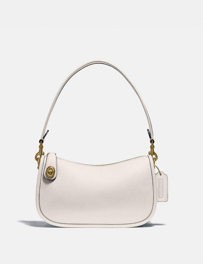 Coach Swinger Bag Brass/Chalk New Women's New Arrivals Bags
