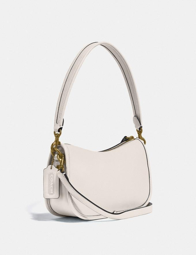 Coach Swinger Bag Brass/Chalk New Women's New Arrivals Bags Alternate View 1