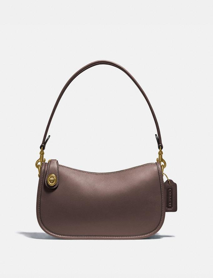 Coach Swinger Bag Brass/Maple New Women's New Arrivals Bags