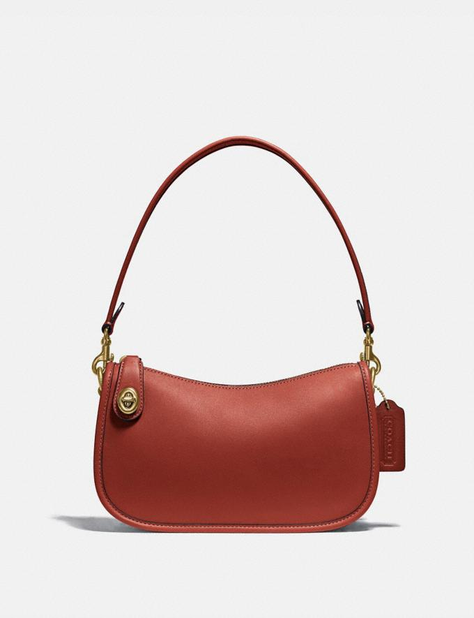 Coach Borsa Swinger B4/Ruggine Regalo Per lei Sotto i 250 €