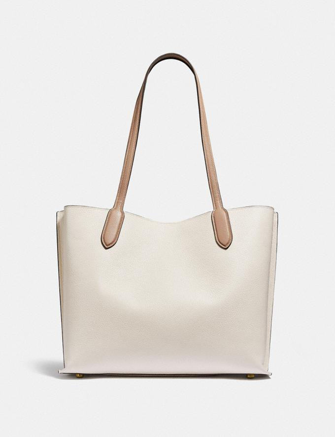 Coach Willow Tote in Colorblock B4/Chalk Multi New Women's New Arrivals Bags Alternate View 2