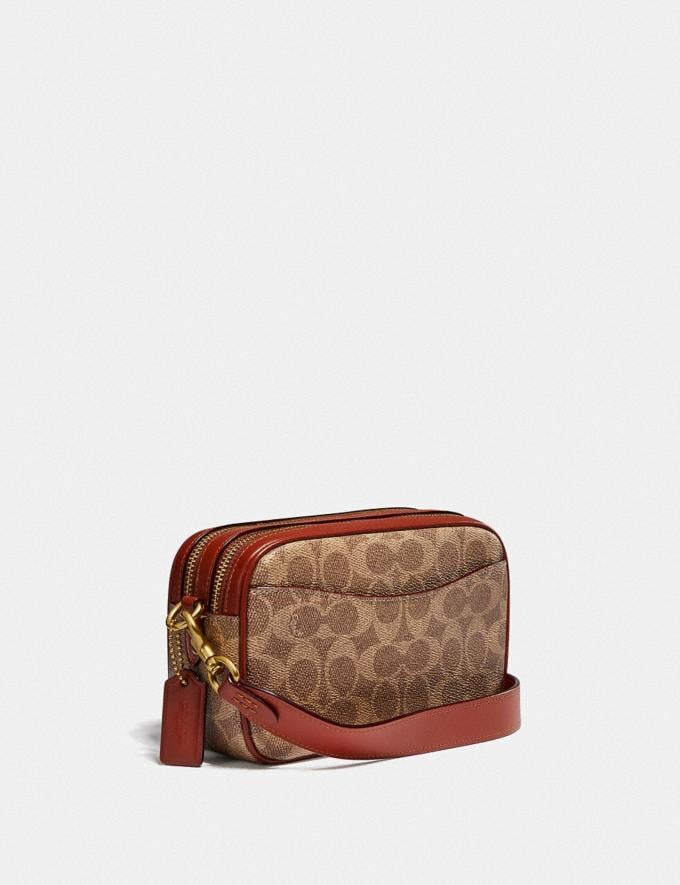 Coach Willow Camera Bag in Signature Canvas Brass/Tan Rust null Alternate View 1