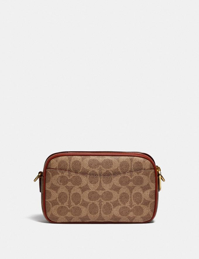 Coach Willow Camera Bag in Signature Canvas Brass/Tan Rust null Alternate View 2