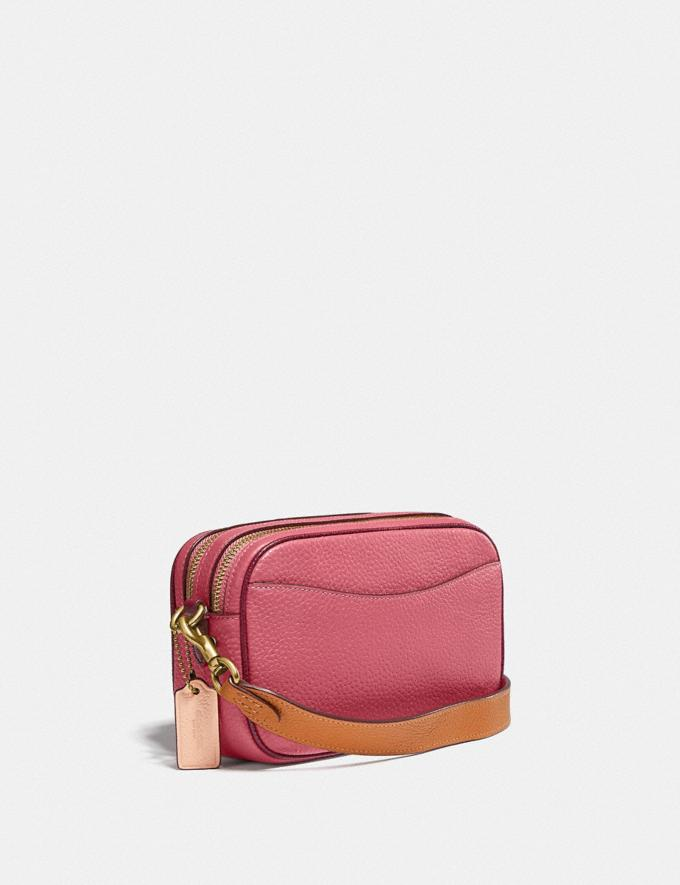 Coach Willow Camera Bag in Colorblock Brass/Rouge Multi New Women's New Arrivals Bags Alternate View 1